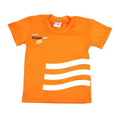 SESI Camisa Malha Laranja
