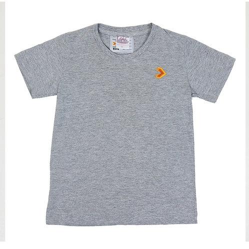 Eleva Camisa Malha Cinza