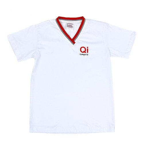 QI Camisa Gola V Branca