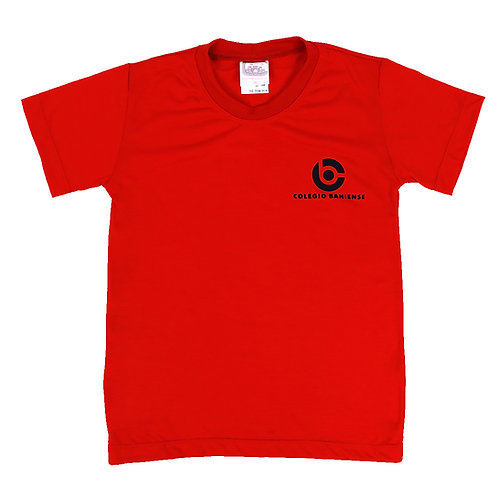 Camisa Manga Vermelha - Colégio Bahiense
