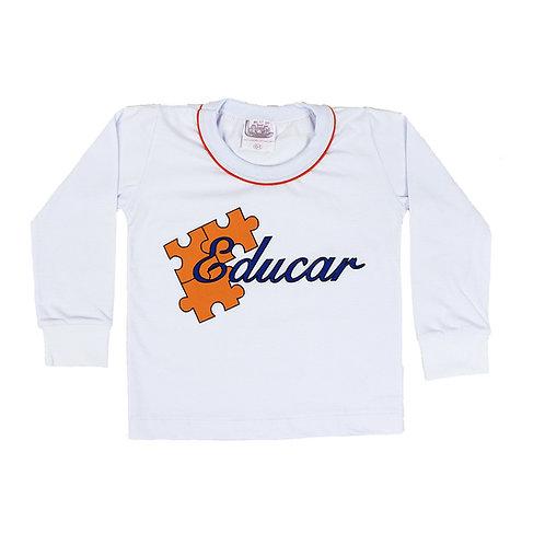 Educar Camisa Manga Comprida Ed. Infantil