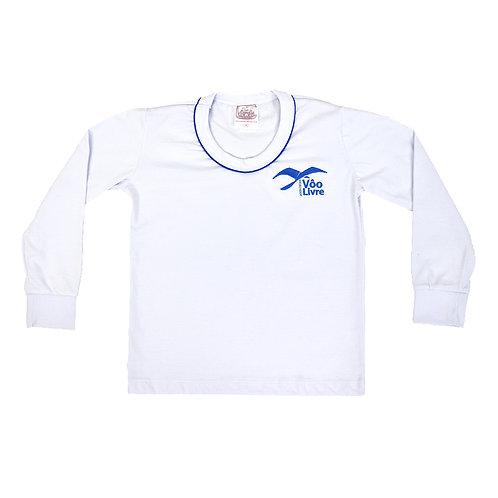 Colégio Voo Livre Camisa Malha Manga Comprida
