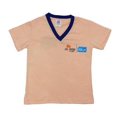 Jr Lages Camisa Manga Gola V
