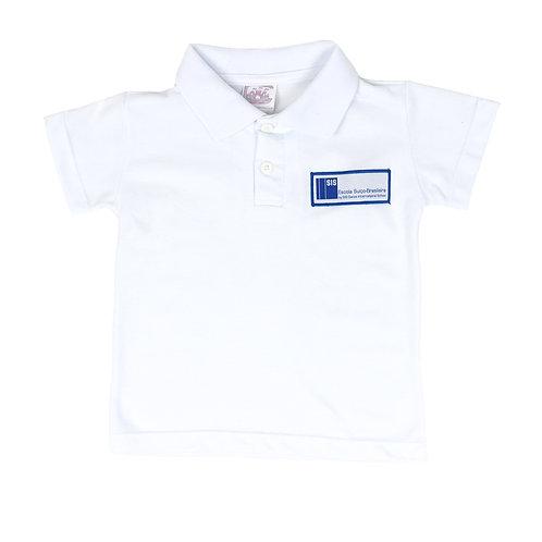Escola Suíço-Brasileira Camisa Polo Piquet Branca