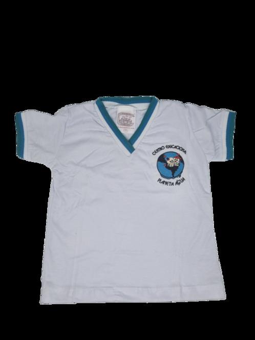 Planeta Água - Camisa manga branca