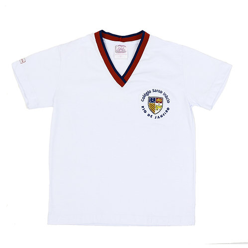 Col. Santo Inácio Camisa Malha Branca