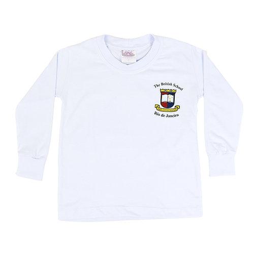 British School Camisa Manga Longa