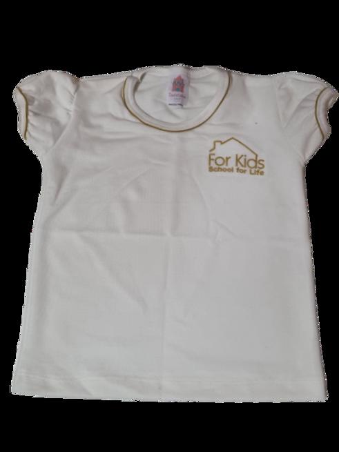 For Kids Camisa Feminina