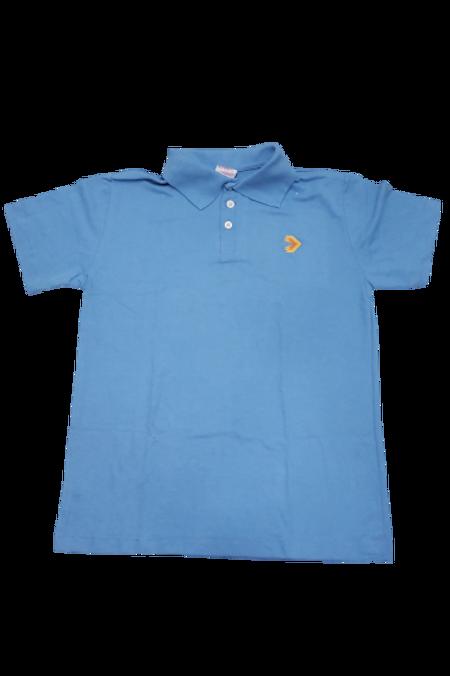 Eleva Camisa Polo Azul Fund. II