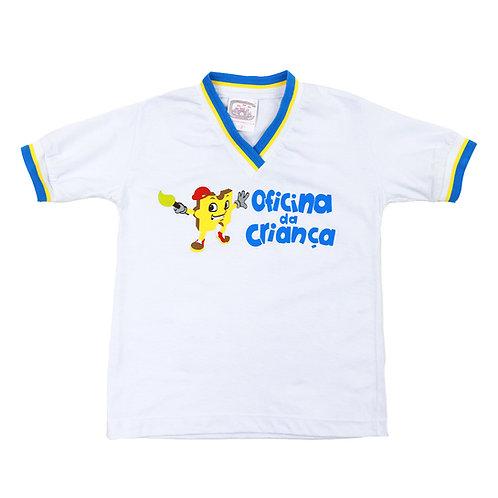 Oficina da Criança Camisa Manga