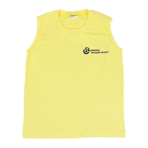 Camisa sem manga amarela - Colégio Bahiense Ed. Infantil