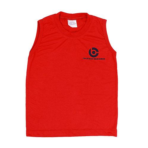 Camisa Sem Manga Vermelha - Colégio Bahiense
