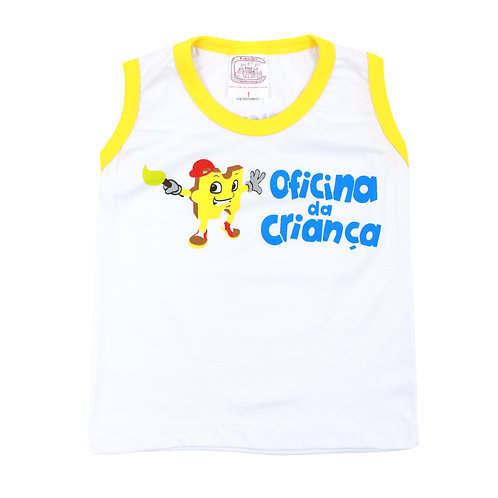 Oficina da Criança Camisa Sem Manga
