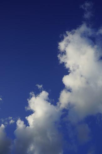 Sky over the Caribbean