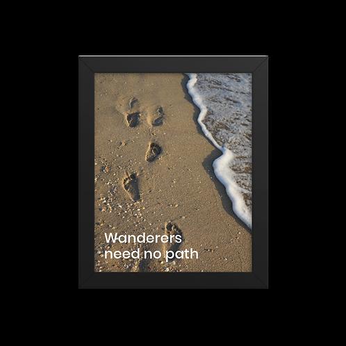 Wanderers need no path