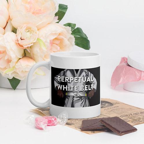 Perpetual White Belt Coffee Mug
