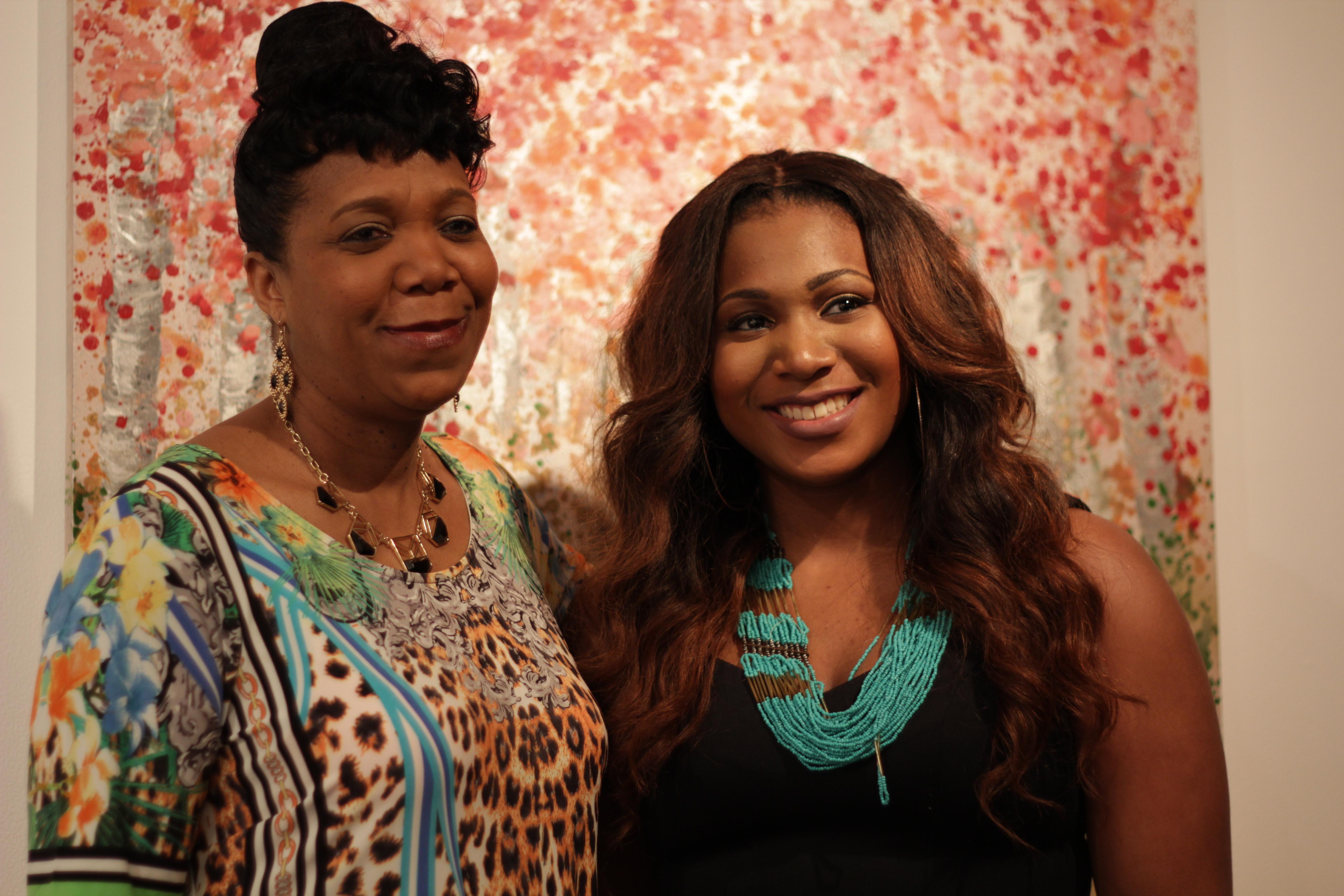 Award Winner and Her Mom