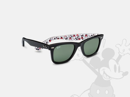 Limited Edition Mickey Mouse Ray Ban Collection