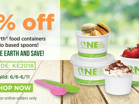 SAVE THE EARTH WITH KARAT CONTAINERS