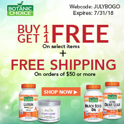 Buy 1 Get 1FREE- Botanic Choice