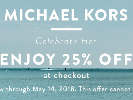 Mother's  Day from Michael Kors