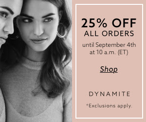 Dynamic Labor Day Sale 25% Off Limited Time Offer.