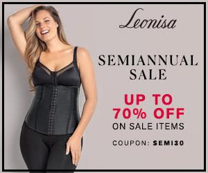 Leonisa Semi-Annual Sale Up to 70% OFF
