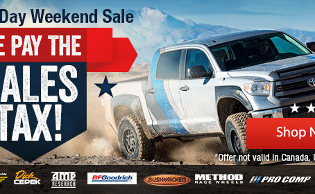 4 WHEEL PART PURCHASE SAVING ON SHIPPING FOR MEMORIAL DAY!!!