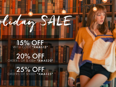 J.ING Year End Holiday Sale - Great Gifts