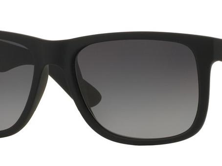 Ray-Ban 4165 Justin Wayfarer Sunglasses