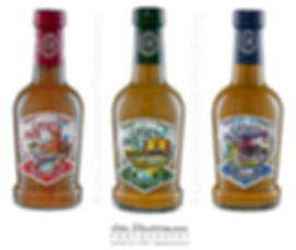 Louco Piri Piri Sauce bottles