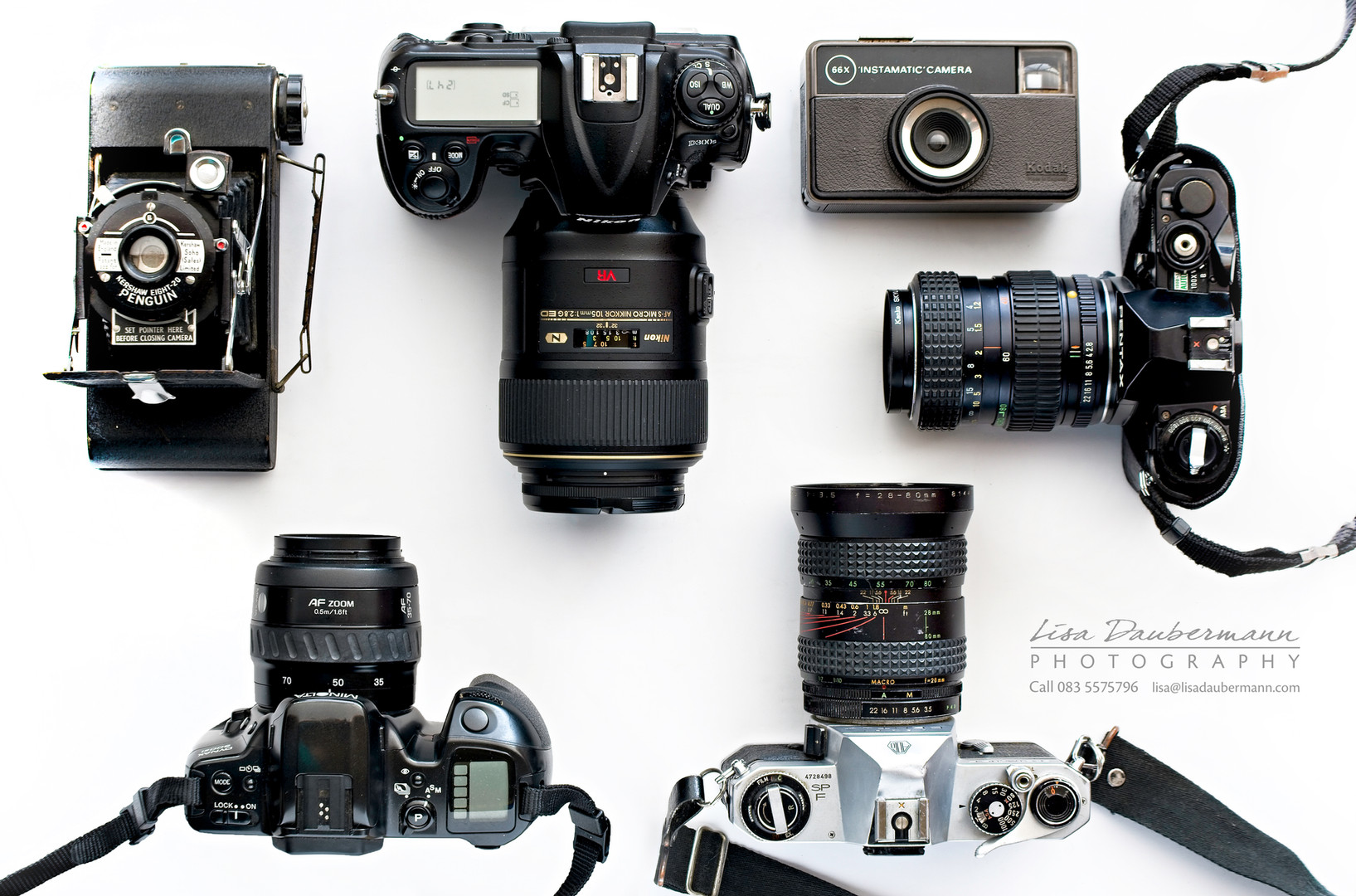 Cameras through the ages 2