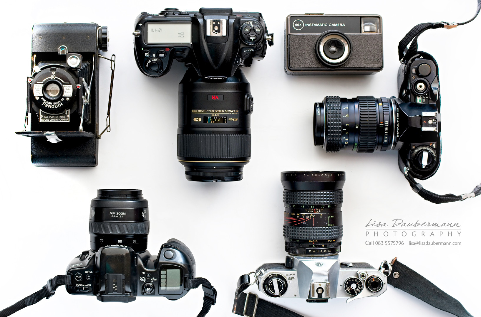 Cameras through the ages 2