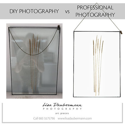 DIY imagery vs Professional
