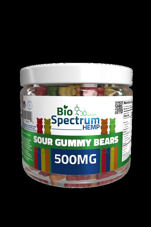 Sour Bears 500mg