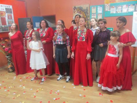 Работники Гришевского СДК отчитались о проделанной за год работе
