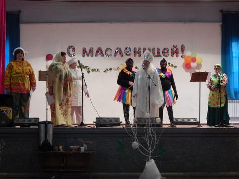 В Гончаровском СДК прошла Масленица