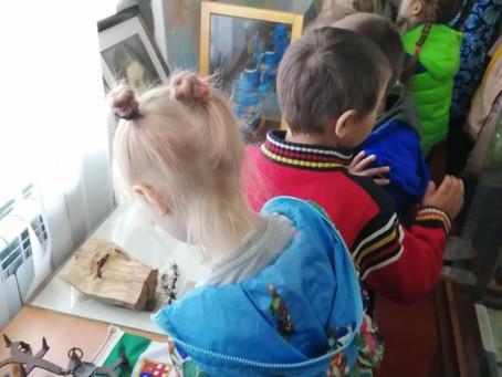 Воспитанники детского сада посетили музей в преддверии Дня Победы