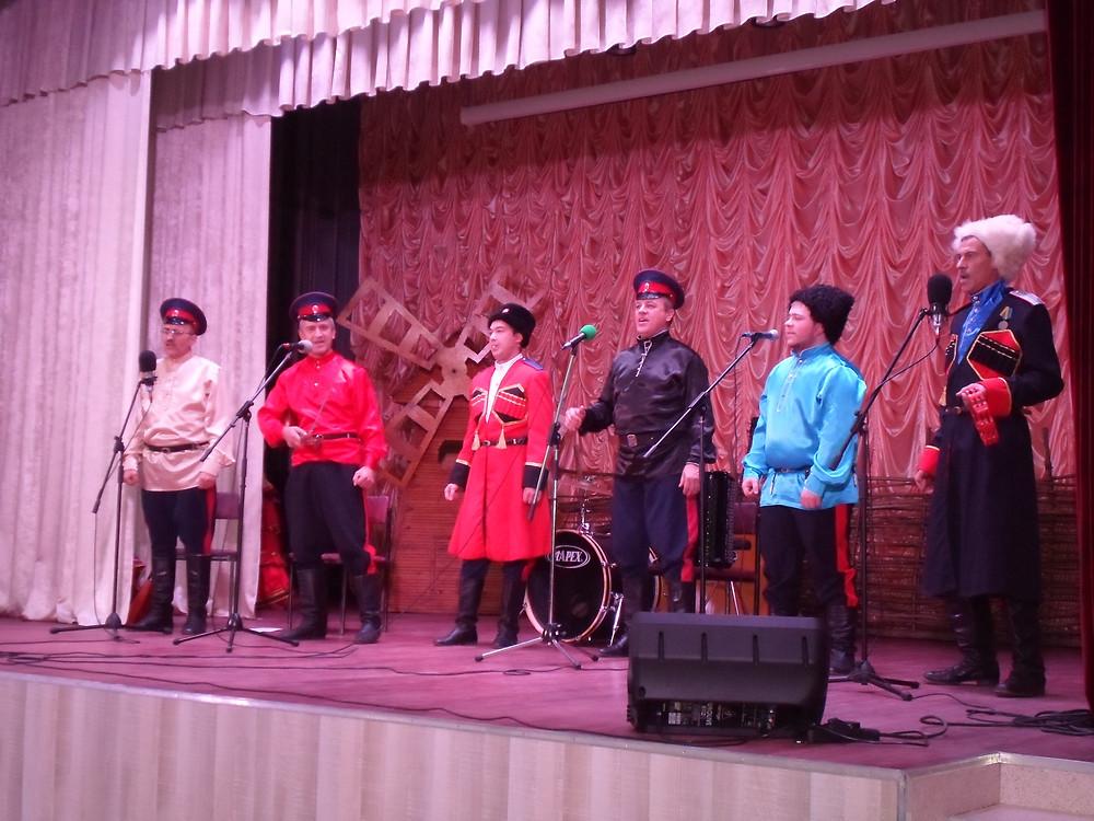 Концерт в сл.Сагуны