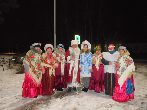 В Первомайском СДК продолжились новогодние мероприятия
