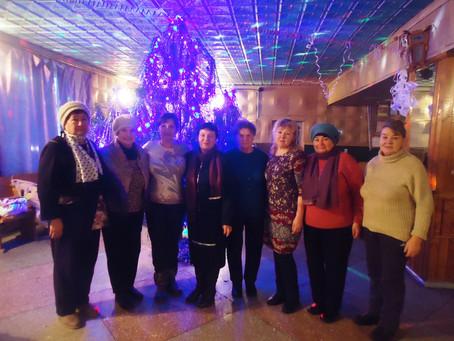 Рождественские праздники в Скорорыбском СДК