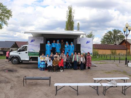 «Культурная весна» с автоклубом в Подгоренском