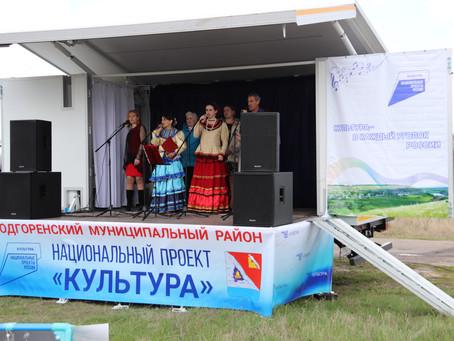 Еще в одном селе Подгоренского района прошло знакомство жителей с автоклубом