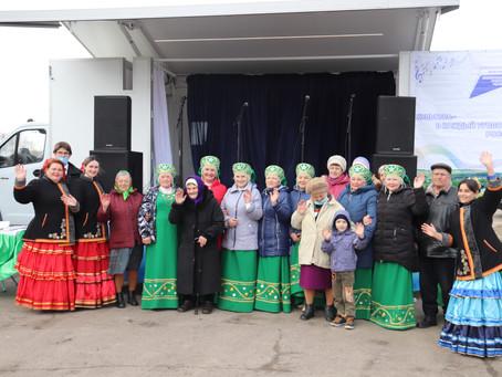Автоклуб в хуторе Петропавловка