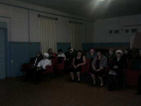 Отчетный концерт в Лыковском СДК
