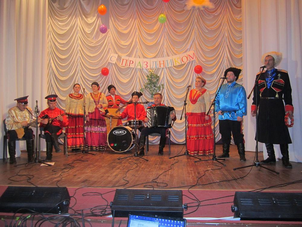 Концерт на ст. Сагуны