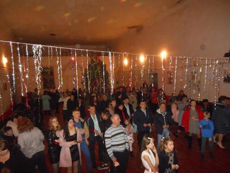 В Первомайском СДК прошли новогодние праздники