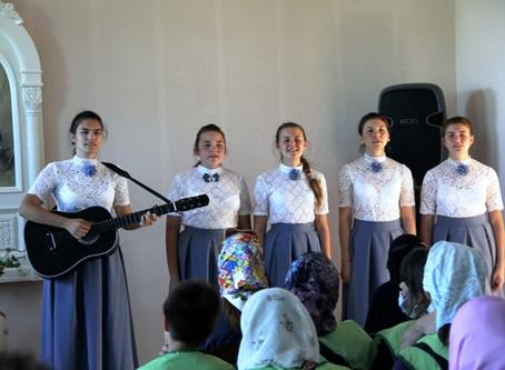 Встреча с православными добровольцами