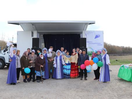 Подгоренский автоклуб побывал в хуторе Окраюшкин