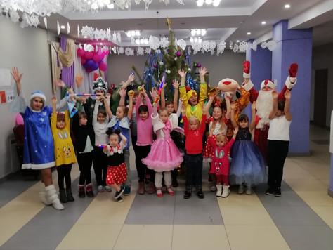Новый год для детей в Сагуновском СДК